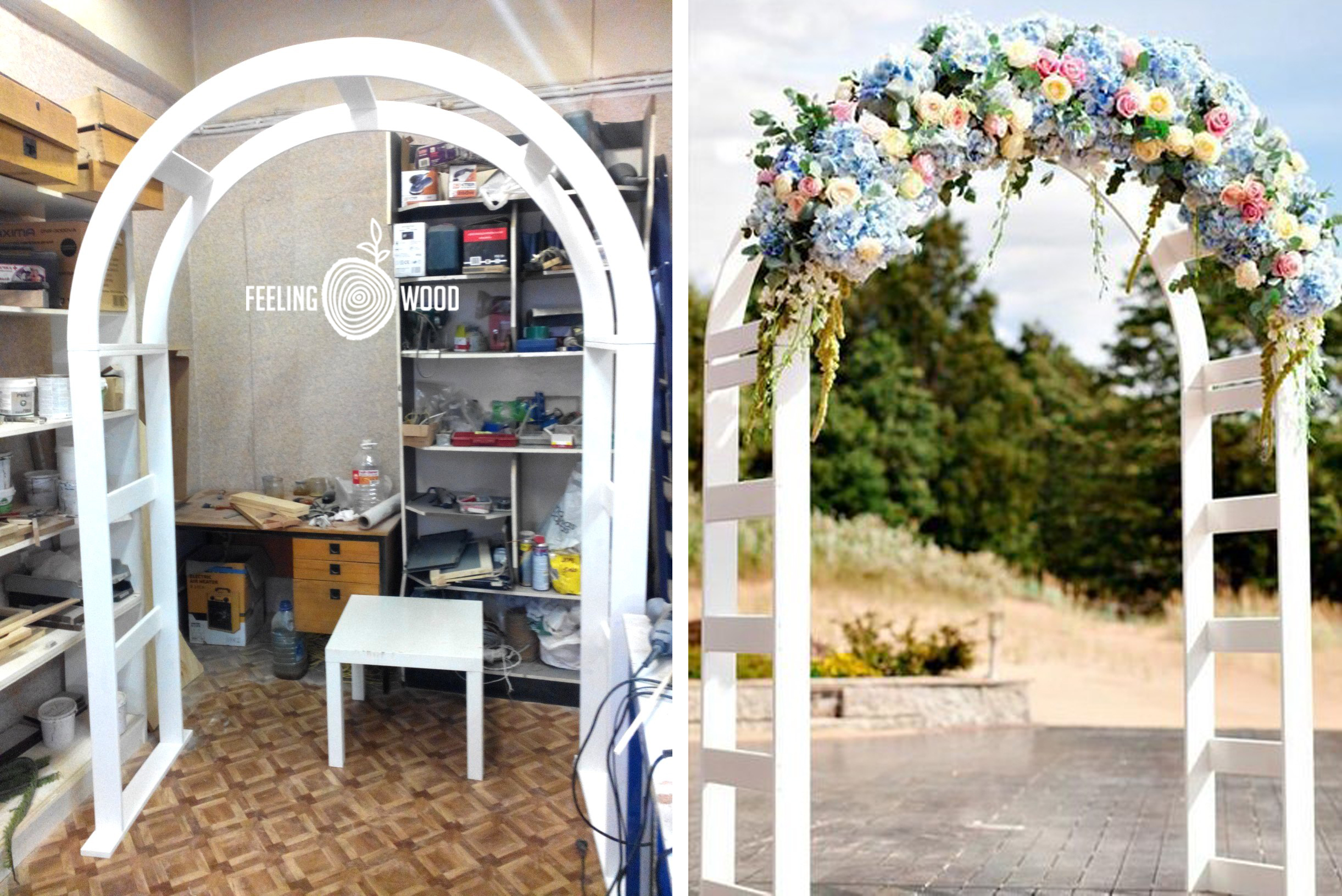 Металлическая садовая арка: как 13