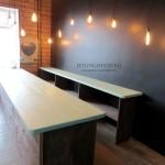 деревянные столы прилавки для цветочного магазина от Feeling Wood