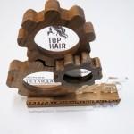 наградная продукция из дерева на заказ, награды из дерева и оргстекла для Top Hair от Feeling Wood