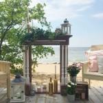 Деревянный каминный портал, декор на свадьбу от Feeling Wood