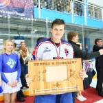 Церемония награждения первенства России по Хоккею среди команд 1999 г.р. Медальницы от Feeling Wood