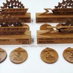 Изготовление медалей на заказ деревянные медали от Feeling Wood