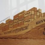 Деревянные-бизнес-подарки-от-Feeling-Wood-деревянный-корабль-для-Shark