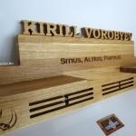 Полка для маделей и кубков Feeling Wood