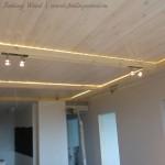 отделка интерьера деревом столешницы из массива на заказ от Feeling Wood