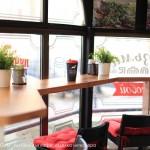 Мебель из массива и отделка деревом интерьеров сети кофеин Baggins Coffee от Feeling Wood