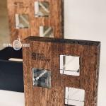 Наградная продукция из дерева от Feeling Wood награды для Банка Санкт Петербург